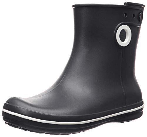 Crocs Jaunt Shorty Boot, Botas de Agua para Mujer, Negro (Black), 39/40 EU