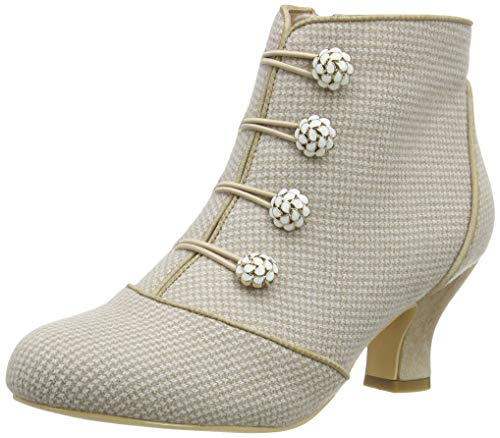 Joe Browns Delightful and Dainty Boots, Botas Cortas al Tobillo Mujer, A Natural, 40.5 EU